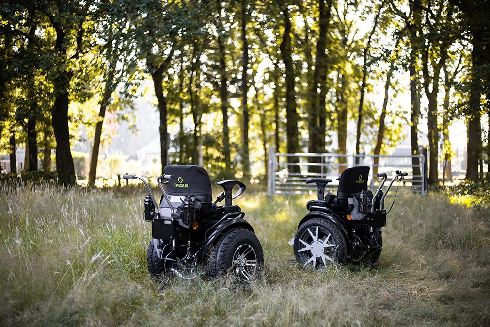 Twizzler Buddy elektrische rolstoel