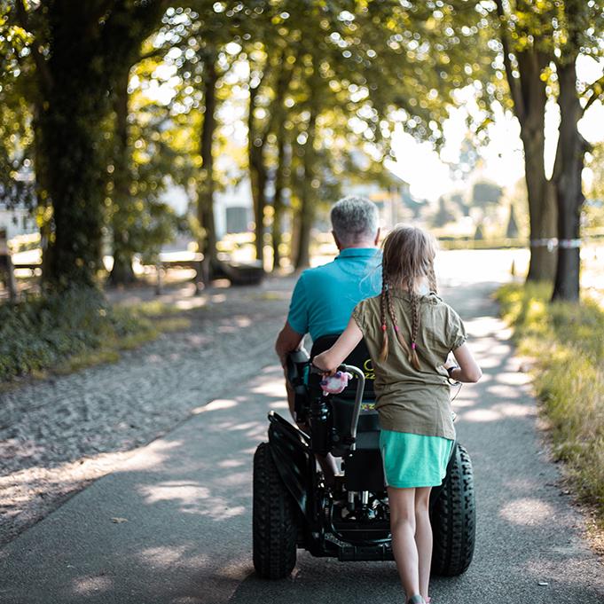 Twizzler Buddy rolstoel